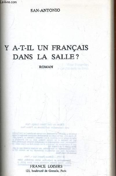 Y A-T-IL UN FRANCAIS DANS LA SALLE?.