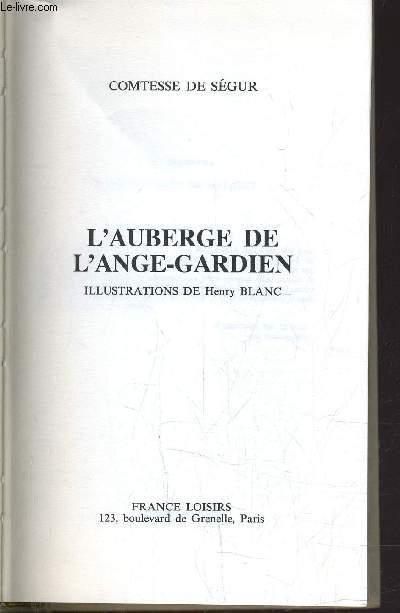 L'AUBERGE DE L'ANGE-GARDIEN.