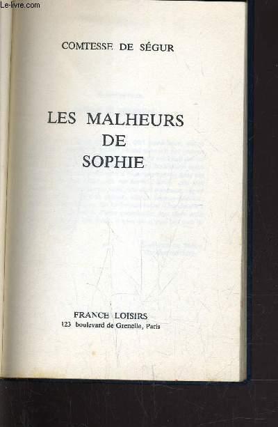 LES MALHEURS DE SOPHIE.