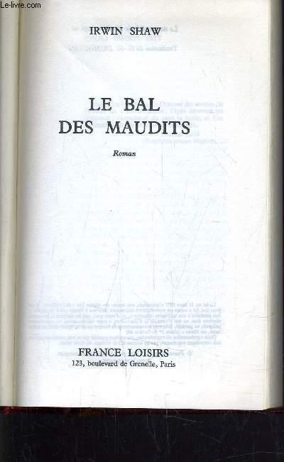 LE BAL DES MAUDITS.