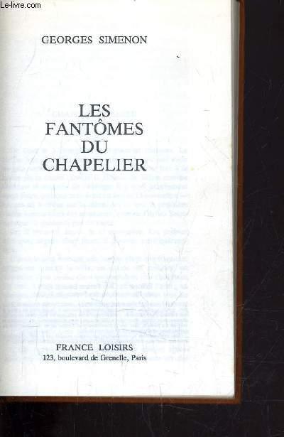 LES FANTOMES DU CHAPELIER.