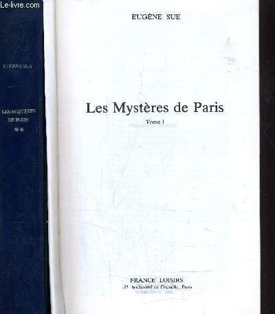 LES MYSTERES DE PARIS TOME 1 - TOME 2.