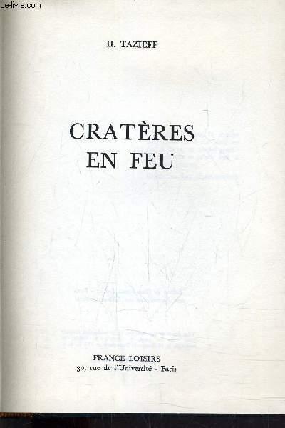 CRATERES EN FEU.
