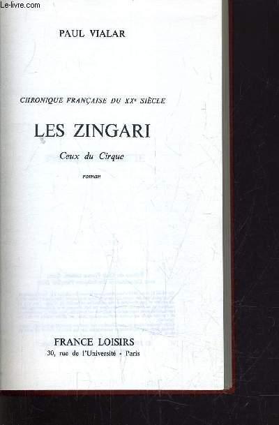 LES ZINGARI - CEUX DU CIRQUE.