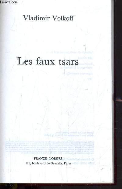LES FAUX TSARS.