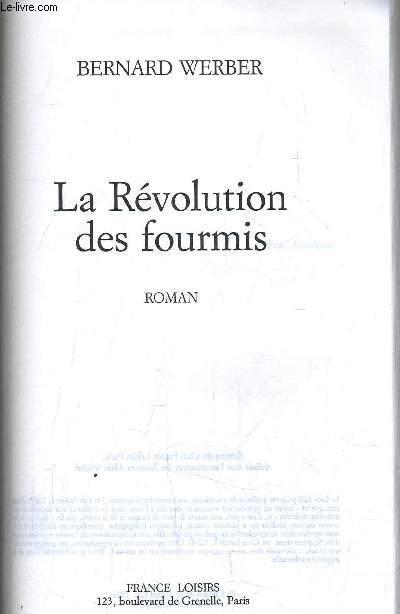 LA REVOLUTION DES FOURMIS.