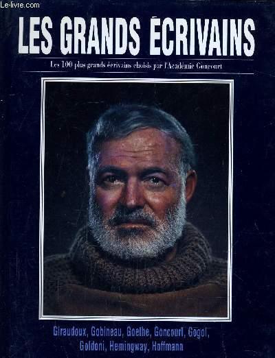 LES GRANDS ECRIVAINS - VOLUME 5 : Giraudoux / Gobineau / Goethe / Gogol / Goldoni / Goncourt / Hemingway / Hoffmann.
