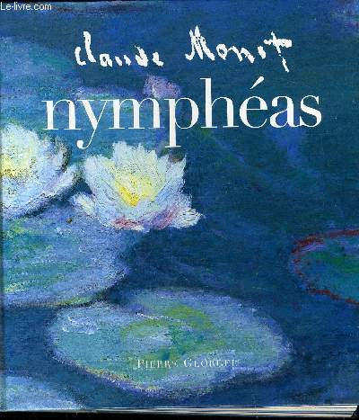 CLAUDE MONET NYMPHEAS.