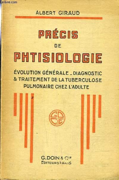 PRECIS DE PHTISIOLOGIE.