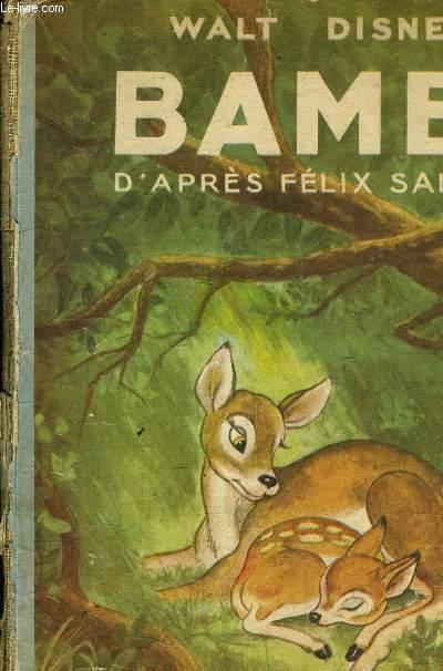 BAMBI D'APRES FELIX SALTEN.