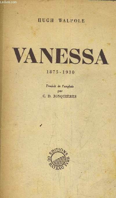 VANESSA 1875-1930.