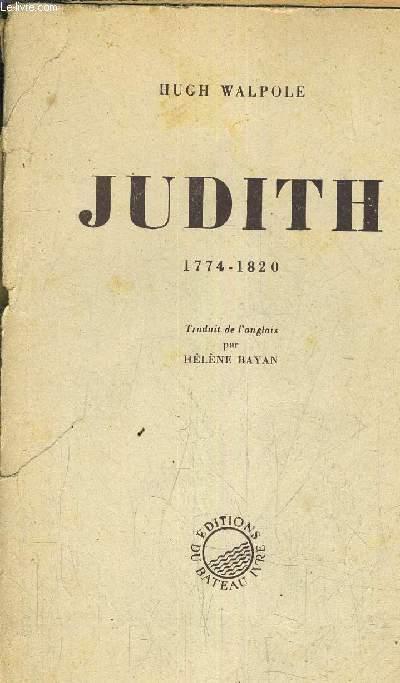 JUDITH 1774-1820.