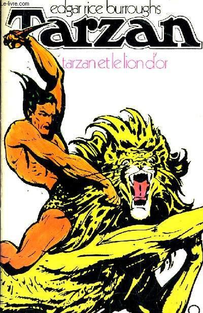 TARZAN - TARZAN ET LE LION D'OR N°8.