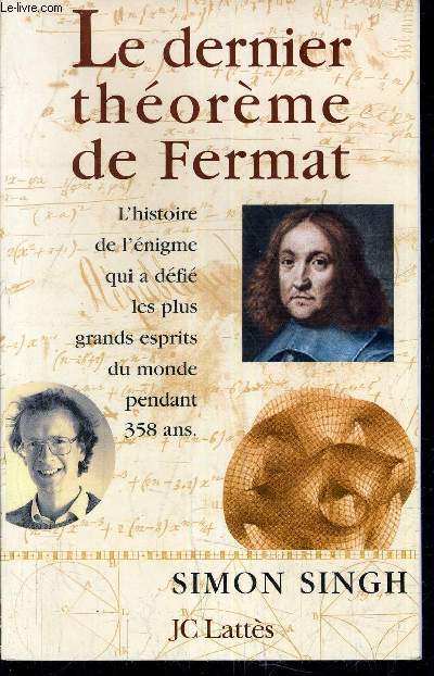 fermats last therom essay Get access to pierre fermat essays only from  anti essays offers essay examples to help students  pierre de fermat-the impossible theorem pierre de.