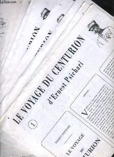 LE VOYAGE DU CENTURION D'ERNEST PSICHARI DU N°1 AU 27 INCLUS.