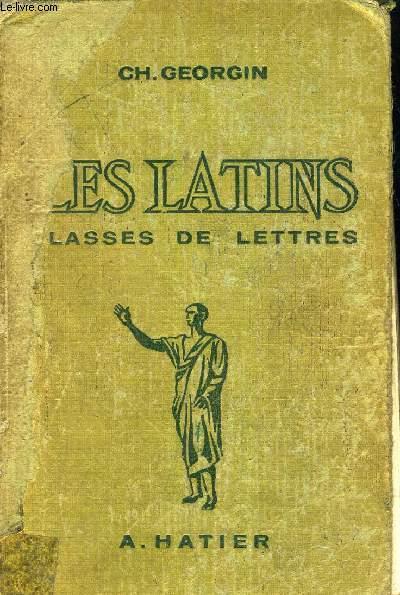 LES LATINS PAGES PRINCIPALES DES AUTEURS DU PROGRAMME - CLASSES DE LETTRES 3E 2E 1ER PHILOSPHIE.