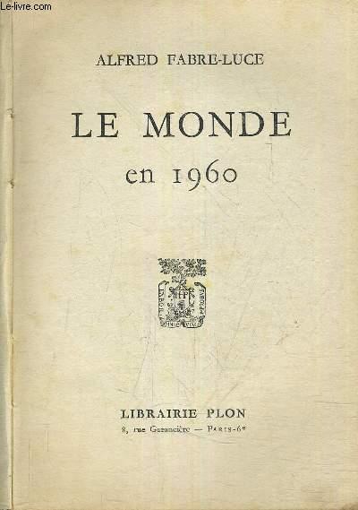 LE MONDE EN 1960.