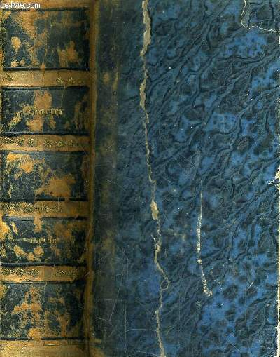 L'ILIADE D'HOMERE TRADUIT DU GREC PAR MME DACIER NOUVELLE EDITION ORNEE DE FIGURES ET MEDAILLES EN TAILLE DOUCE - 2 TOMES EN 1 VOLUME.