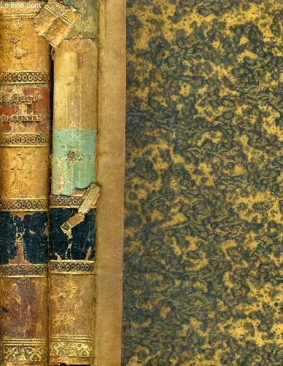 VICTOR HUGO RACONTE PAR UN TEMOIN DE SA VIE - 2 TOMES - TOME 1 :1802-1819 - TOME 2 : 1819-1841.