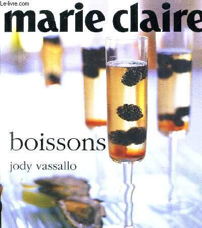 MARIE CLAIRE BOISSONS.