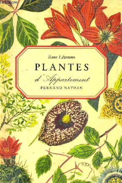 PLANTES D'APPARTEMENT.