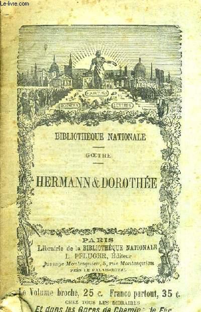 HERMANN ET DOROTHEE - POEME EN IX CHANTS.