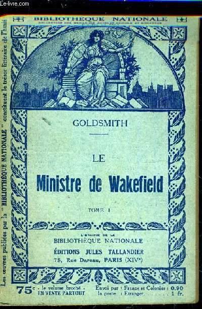 LE MINISTRE DE WAKEFIELD - TOME 1.
