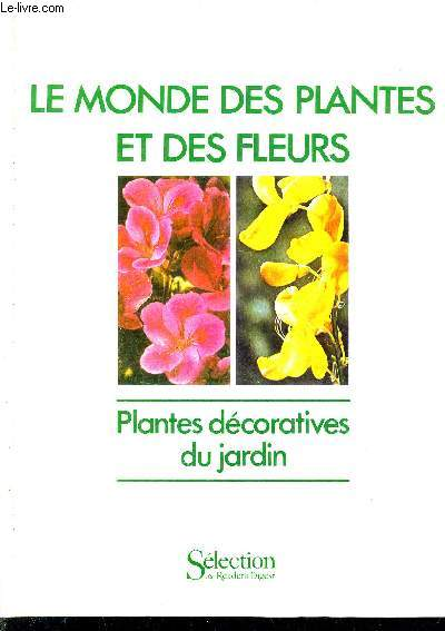 Livres occasion plantes ornementales fleurs en stock for Plantes decoratives jardin