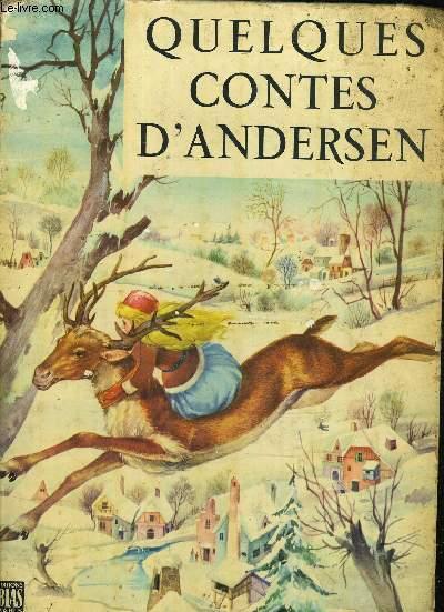 QUELQUES CONTES D'ANDERSEN.