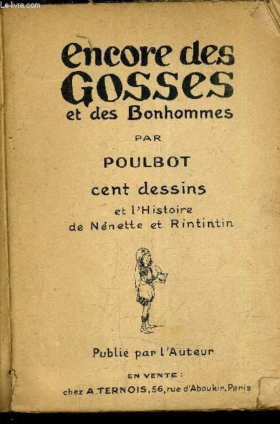ENCORE DES GOSSES ET DES BONHOMMES ET L'HISTOIRE DE NENETTE ET RINTINTIN.