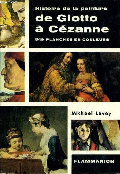 HISTOIRE DE LA PEINTURE DE GIOTTO A CEZANNE.