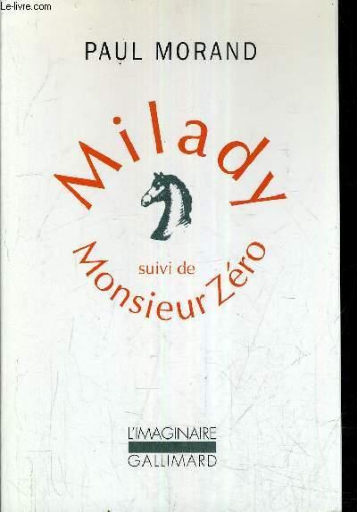 MILADY SUIVI DE MONSIEUR ZERO.