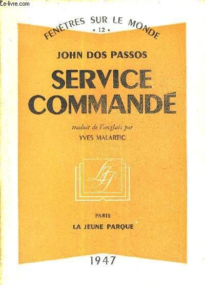 SERVICE COMMANDE.
