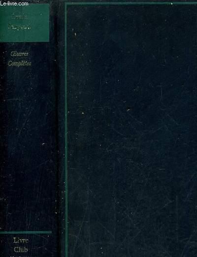 OEUVRES COMPLETES - DE GOUPIL A MARGOT - LA REVANCHE DU CORBEAU - LE MIRACLE DE SAINT HUBERT - DERNIERES HISTOIRES DE BETES - LA GUERRE DES BOUTONS - LEBRAC BUCHERON - LES RUSTIQUES - NOUVELLES VILLAGEOISES POSTHUMES - LA VIE DES BETES - LEON DEUBEL ...