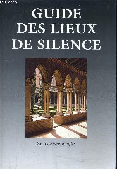 GUIDE DES LIEUX DE SILENCE.