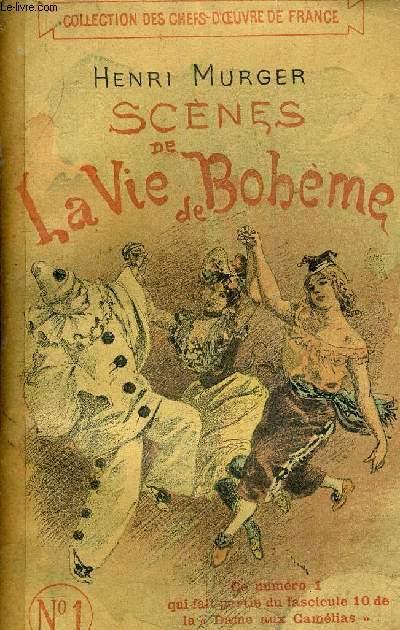 SCENES DE LA VIE DE BOHEME N° 1 - CE NUMERO 1 FAIT PARIE DU FASCICULE 10 DE LA DAME AUX CAMELIAS.