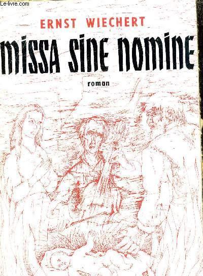 MISSA SINE NOMINE.