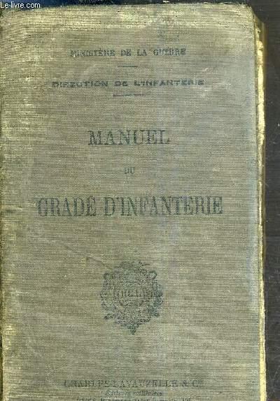 MANUEL DU GARDE D'INFANTERIE - MIS A JOUR A LA DATE DU 1ER NOVEMBRE 1937.