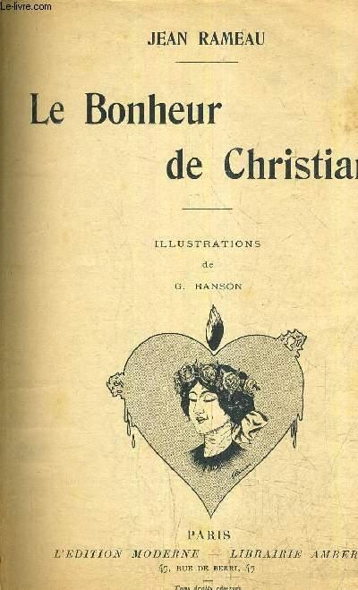 LE BONHEUR DE CHRISTIANE.
