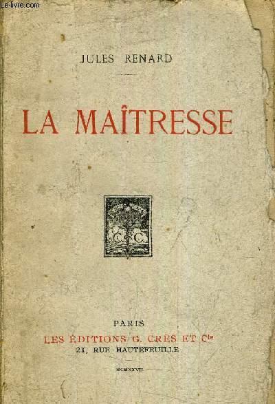 LA MAITRESSE.