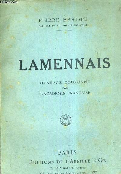 LAMENNAIS DRAME DE SA VIE SACERDOTALE.