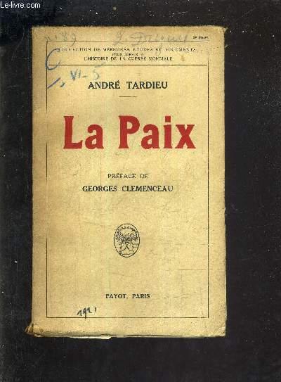 LA PAIX.