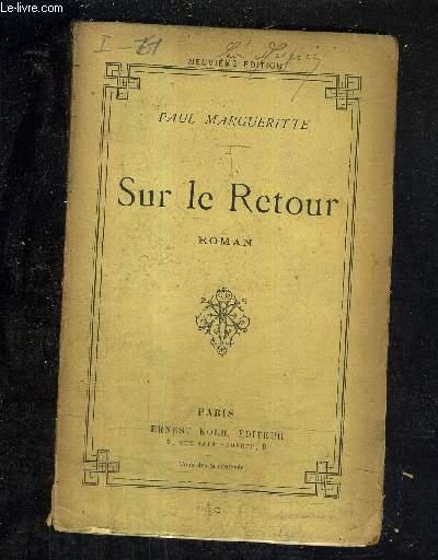 SUR LE RETOUR / 9E EDITION.