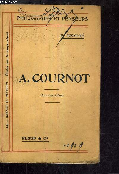 A.COURNOT.