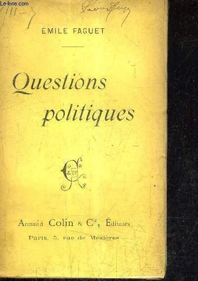 QUESTIONS POLITIQUES.