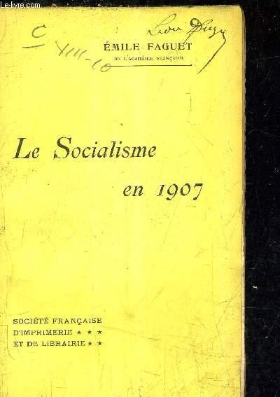 LE SOCIALISME EN 1907.