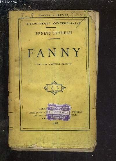 FANNY AVEC UNE NOUVELLE PREFACE - NOUVELLE EDITION.
