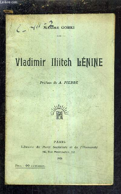 VLADIMIR ILIITCH LENINE.