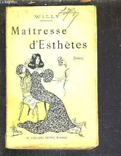 MAITRESSE D'ESTHETES.