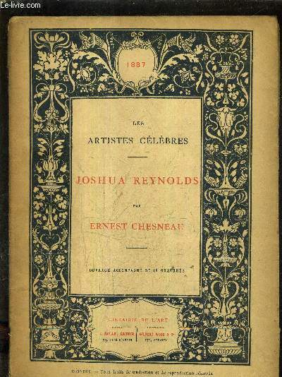 JOSHUA REYNOLDS / COLLECTION LES ARTISTES CELEBRES.
